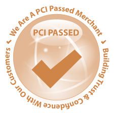 We are a PCI Passed Merchant
