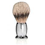 The Art of Shaving Shaving Brush Engraved Nickel