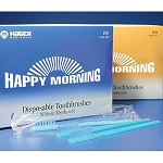 Happy Morning Toothbrushes w/ toothpaste - 10 count