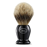 The Art of Shaving Silvertip Badger Shaving Brush - Black