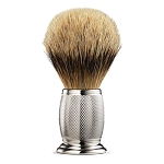 The Art of Shaving Silvertip Badger Shaving Brush - Engraved