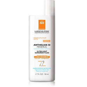 La Roche-Posay Anthelios 50 Mineral Ultra Light Sunscreen Fluid for Face Tinted