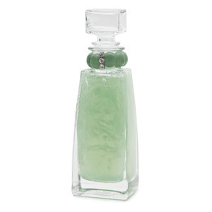 Lady Primrose Celadon Bathing Gel Decanter