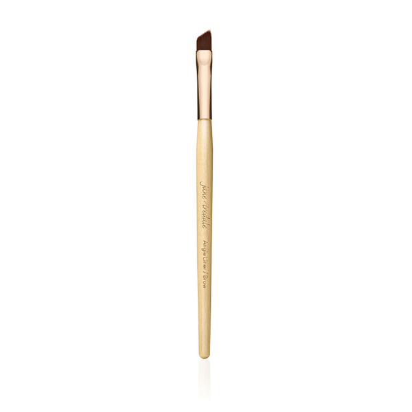 jane iredale Angle Liner/Brow Brush - Rose Gold