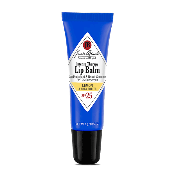Jack Black Intense Therapy Lip Balm SPF 25 Lemon