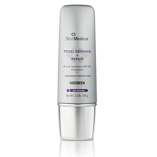 SkinMedica TOTAL DEFENSE + REPAIR Broad Spectrum Sunscreen SPF 34 TINTED