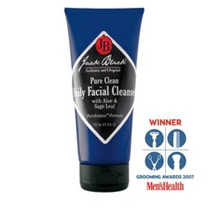 Jack Black Pure Clean Daily Facial Cleanser, 3 oz.